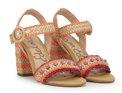 OLISA ANKLE STRAP SANDAL - How cute are these?! I give them a 10/10!