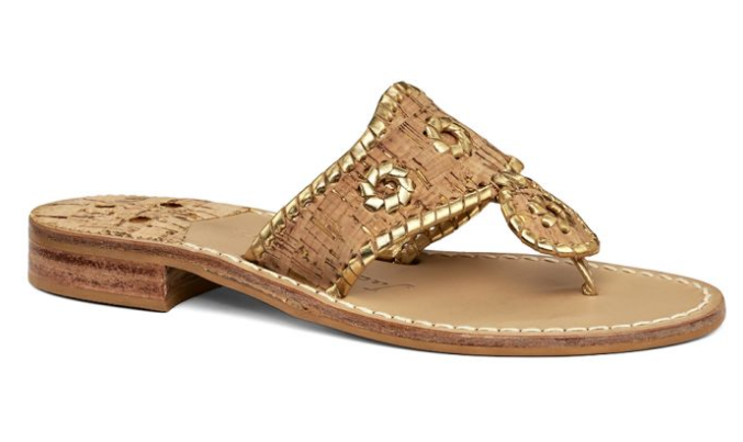 NAPA VALLEY NAVAJO SANDAL - My ABSOLUTE FAVORITE pair of shoes! A Jackie-O staple & classy take on a slip-on sandal.