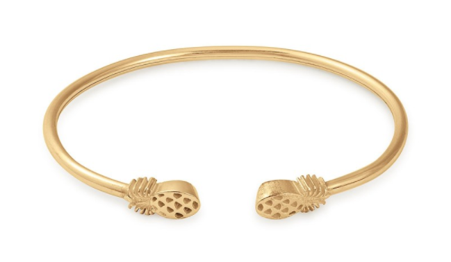 Alex & ANI pineapple cuff - You know I'm ALL about the pineapple accents - this take on the fruit is simple, classy & a great addition to your arm candy collection.