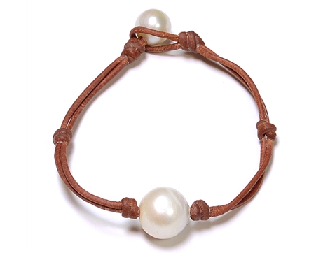Wendy Mignot Freshwater Pearl Bracelet - A true 30A local piece! I also own this beauty - I love, love, love that every bracelet is unique because every pearl is unique. Wendy offers both freshwater & salt water pearls in a various styles including pieces with sea glass.