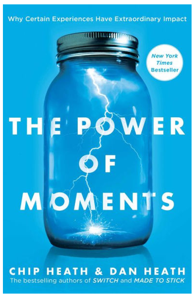 The Power Of Moments - SUCH a great read - a truly motivational book that captures the big picture view of how the smallest of moments can often have the biggest impact on our lives.