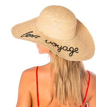 BON VOYAGE FLOPPY HAT