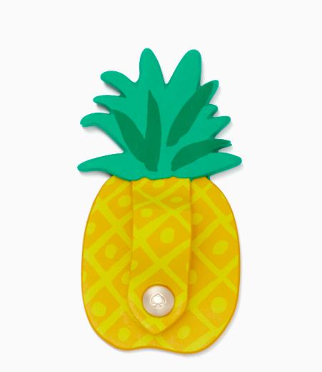 Kate Spade Pineapple Cord Keeper