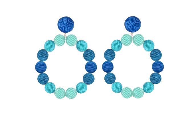 CJ LAING Sardegna Earrings - Blue Ombre