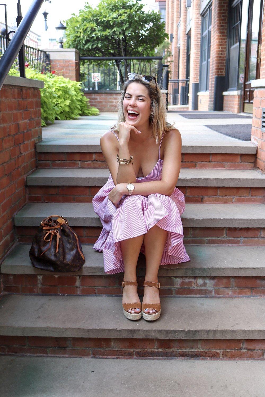 Nicole NYC Laughing
