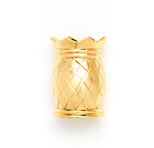 Emily Ley Gold Pineapple Pen Cup