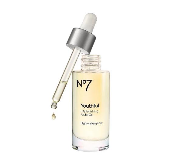 No. 7 Youthful Replenishing Facial Oil