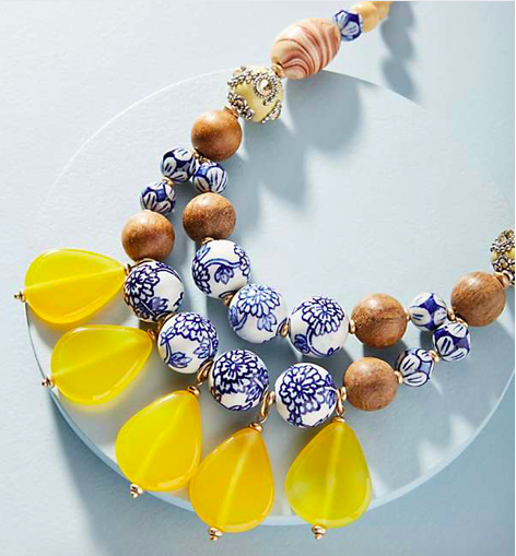 Sundrops Beaded Necklace