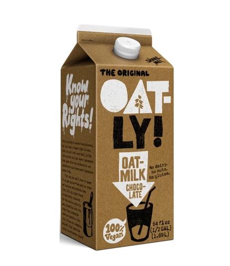 OATLY! Chocolate Milk