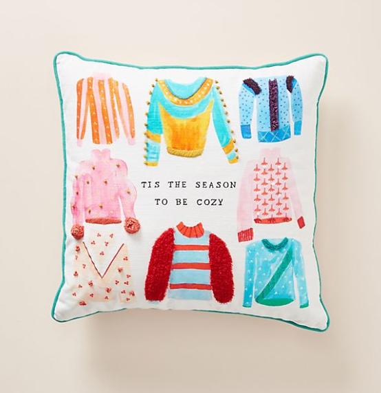 'Tis The Season to be Cozy Pillow