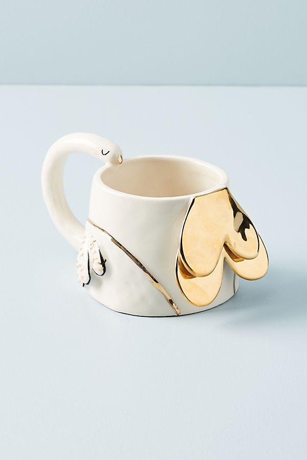Fauna Fete Swan Mug