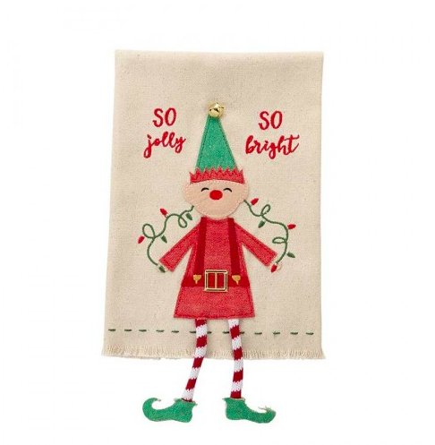 So Jolly Elf Towel