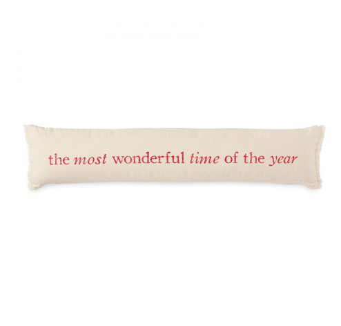 Most Wonderful Time Lumbar Pillow