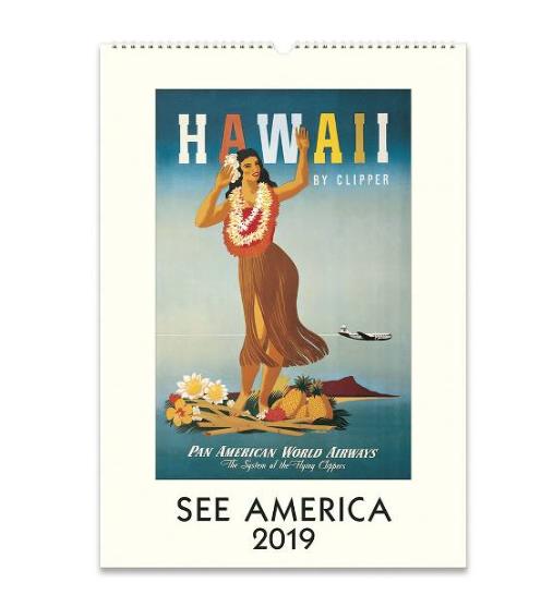 2019 See America Wall Calendar