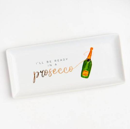 Prosecco Trinket Tray