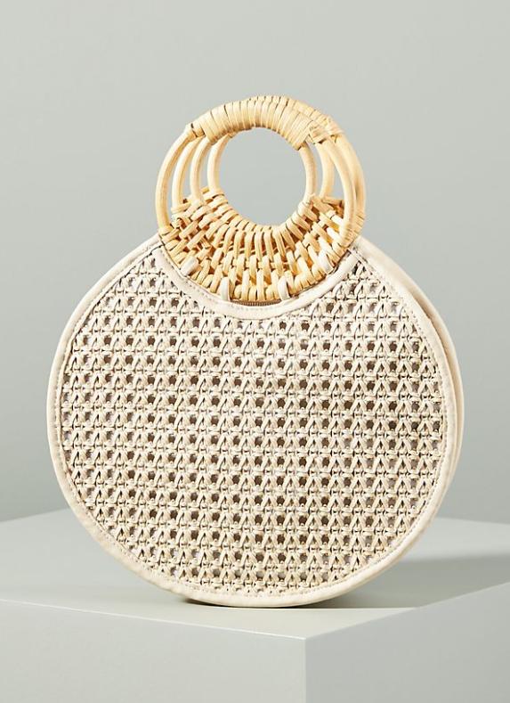 Marianne Woven Circle Bag