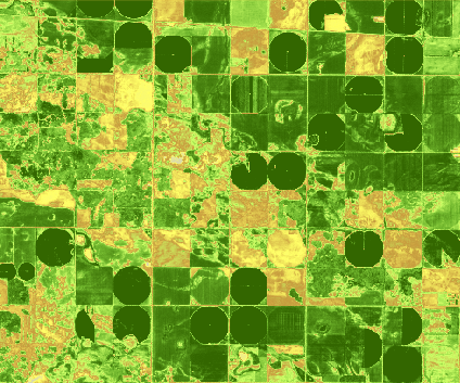 My LandPlan is a service for precision agriculture and provides information to help growers modernize farming practices. Credit: ESA.