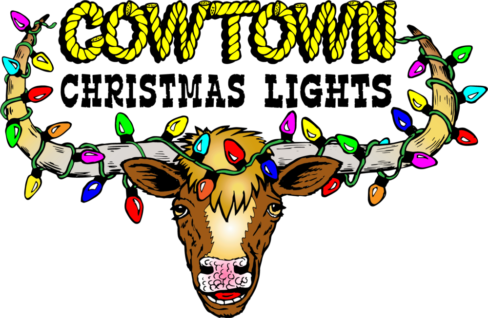 contact cowtown christmas lights