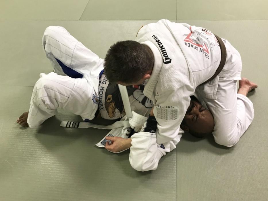 James starts to lose his white belt