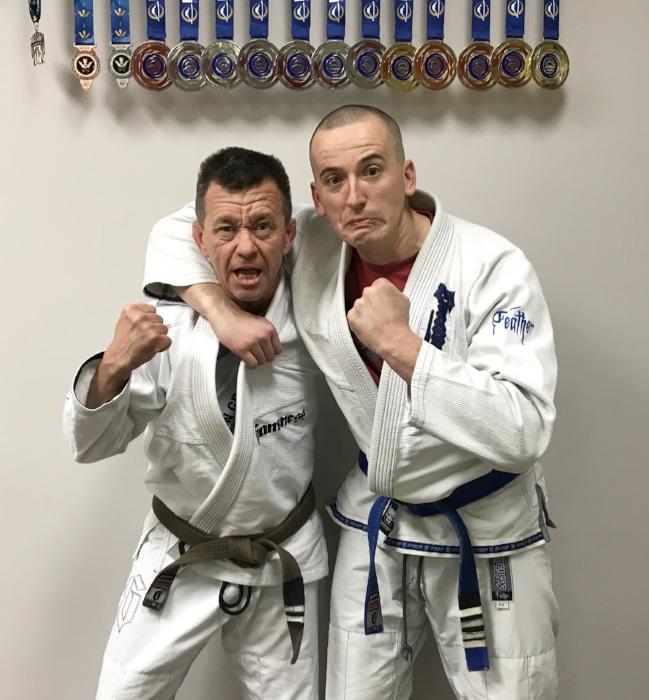 Marty & Coach Daniel (silly version)