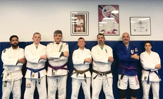 Group photo at Relson Gracie NY