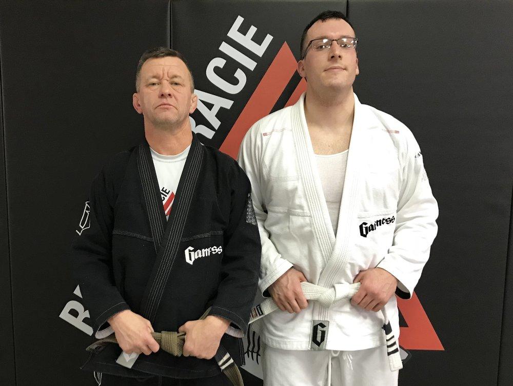John McCormack & Coach Daniel