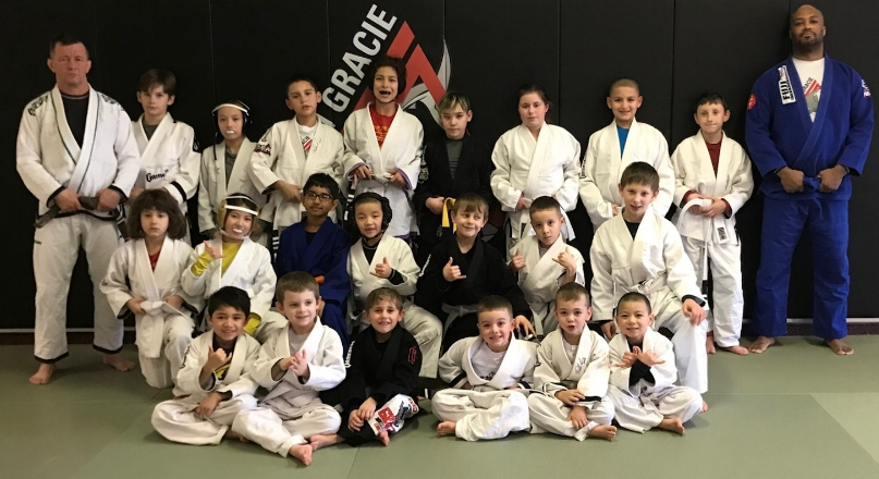 Saturday youth class, after promotions