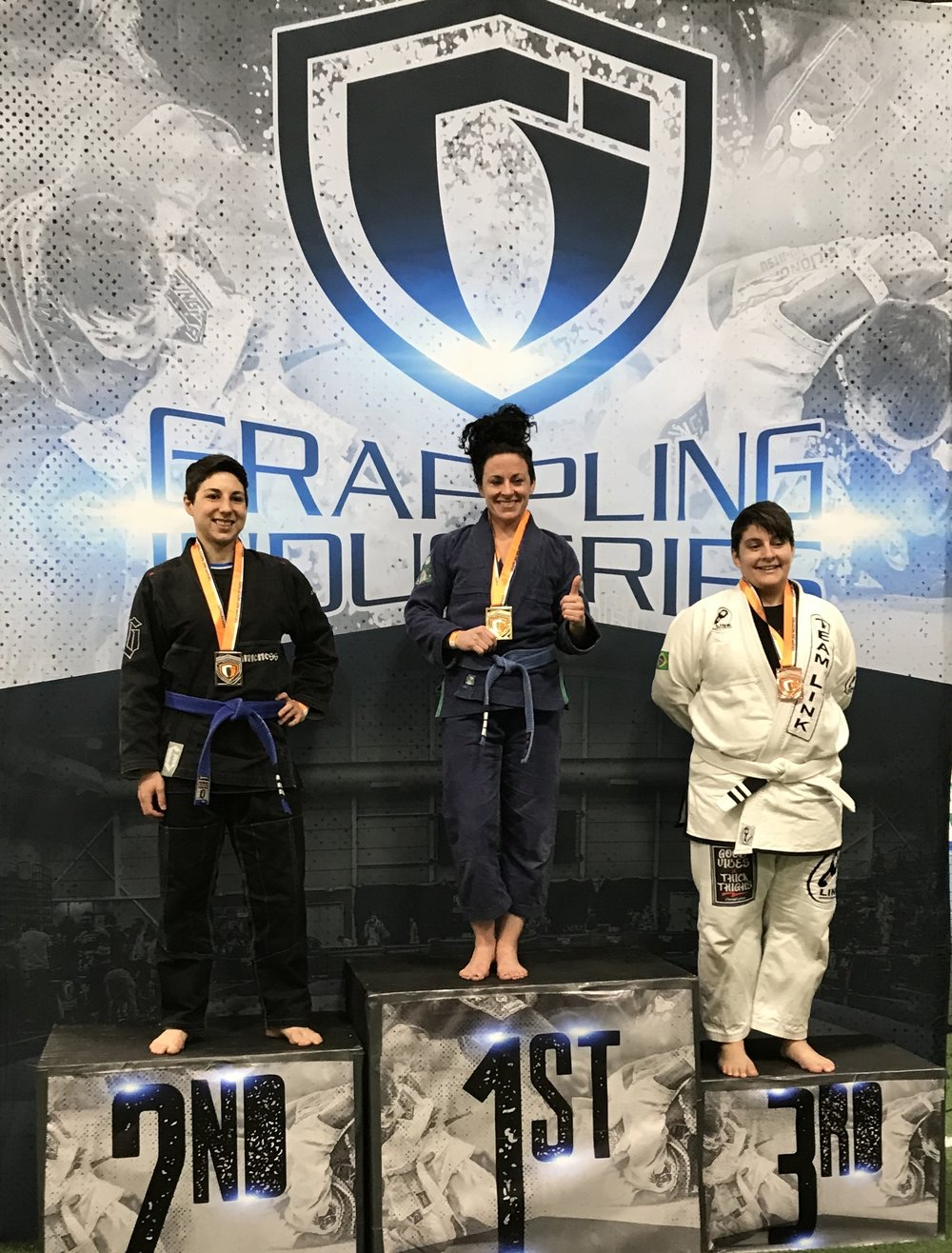 Danielle, 2nd place (Gi, absolute)