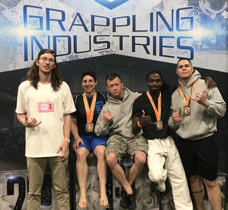 Grappling Industries Recap — Relson Gracie Jiu-Jitsu Academy