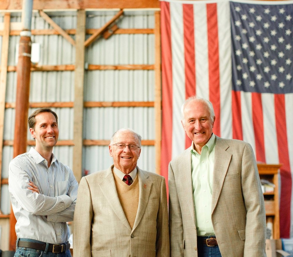 Derek Feist, his grandfather, and his father have all been huge supporters of featuring numerous made-in-America brands in Mitchell's showroom.