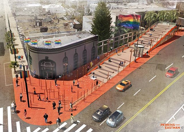 Congratulations Team Perkins Eastman, Harvey Milk Plaza design competition winner!