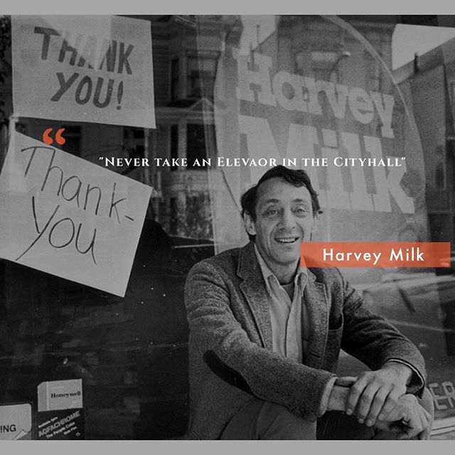 My name is Harvey Milk I am here to recruit you ! #donate #sanfrancisco #harveymilkplaza Artist credit Bettmann  Donate @ www.razoo.com/story/harveymilkplaza