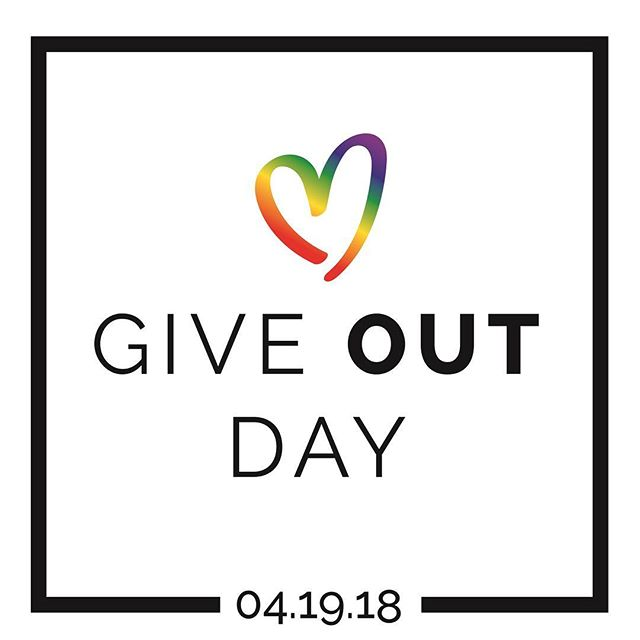 Give OUT Day is happening now, http://bit.ly/honorharveymilk. Join the movement to #HonorHarveyMilk