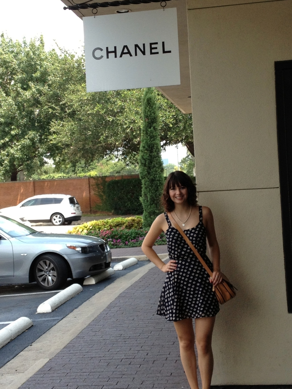 The summer before college, 2013. I was obsessed with this Urban Outfitters dress.