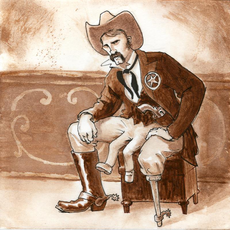 Robert Justin Colby, The 3-legged Sheriff - Ben Walker Storey 2007