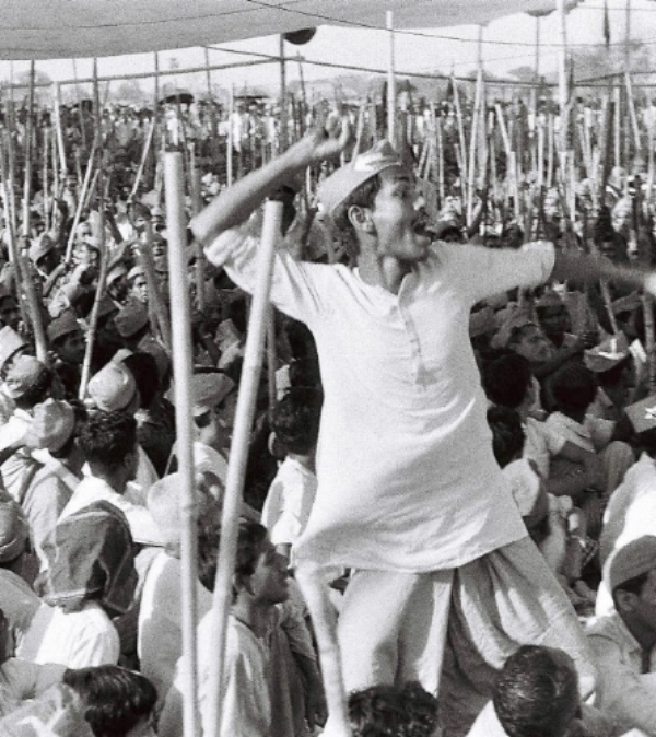 Supporters rallying for Bhashani Photo: Suhail Lari, Pakistan