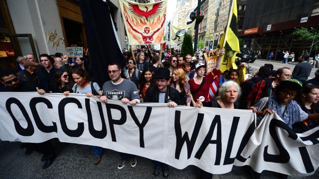 Occupy Wall Street - New York City, 2011. Image:    Occupy.com