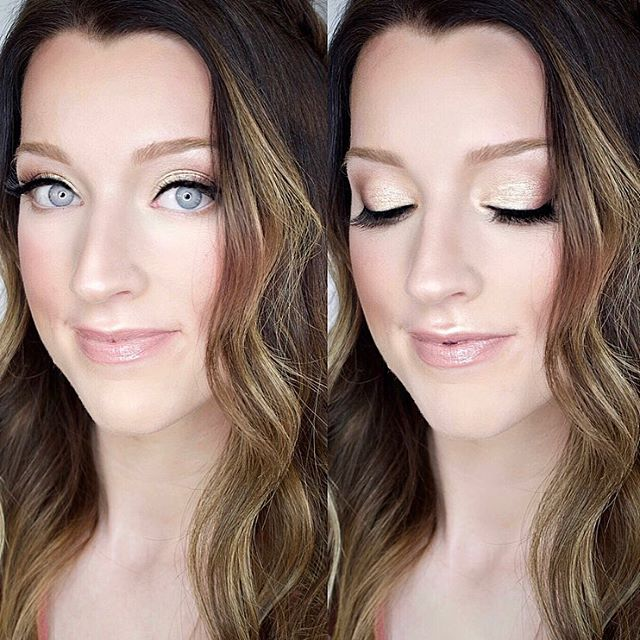 Loving this classic & fresh bridal look on the cutest @haleyhoch! ✨✨✨