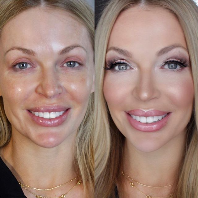 Absolutely stunning before & after.😍 I got to do Jenny's makeup for her headshots today! Products Listed! 🤗💕 Face-@temptu airbrush foundation + @beccacosmetics blush & highlights From the Kylie + Malika palette Eyes- @hourglasscosmetics Eyeshadow Scattered Light + @nyxcosmetics Gel liner + Kiss Lashes #11 Lips @marcjacobsbeauty lipstick Sonic Truth + sugar sugar lipgloss + @maccosmetics lipliner Soar Eyebrows- @anastasiabeverlyhills brow wiz Taupe ✨✨✨