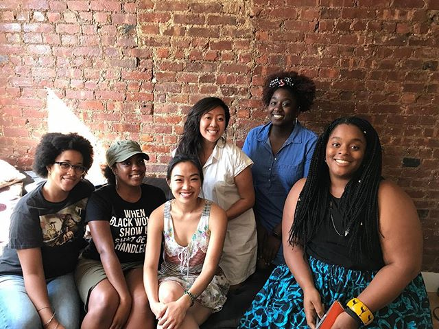 At our ninth volume of Sister Circle Brunch, we talked about beauty. The 6 letter word is filled with countless layers and personal journeys and discoveries for everyone, but women and non-binary people of color have a unique and challenging relationship with it. For us, beauty is beyond aesthetics and symmetry - it is about our self care practices, self love rituals, and how we bring ourselves back into our bodies by listening to our desires and needs. It is about seeing reflections of ourselves in other women of color: we hold mirrors to each other and affirm our beauty. It's about denying the male gaze and heteronormative and Eurocentric standards, embracing our facial and physical characteristics, and the intimate act of self creation. We are so proud and humbled to hear the ways each of you talked about your relationship with beauty. And let's officially add some other beauty rituals to our list: like masturbation and pooping. Shoutout to everyone who joined us at Sister Circle Brunch IX: Beauty!