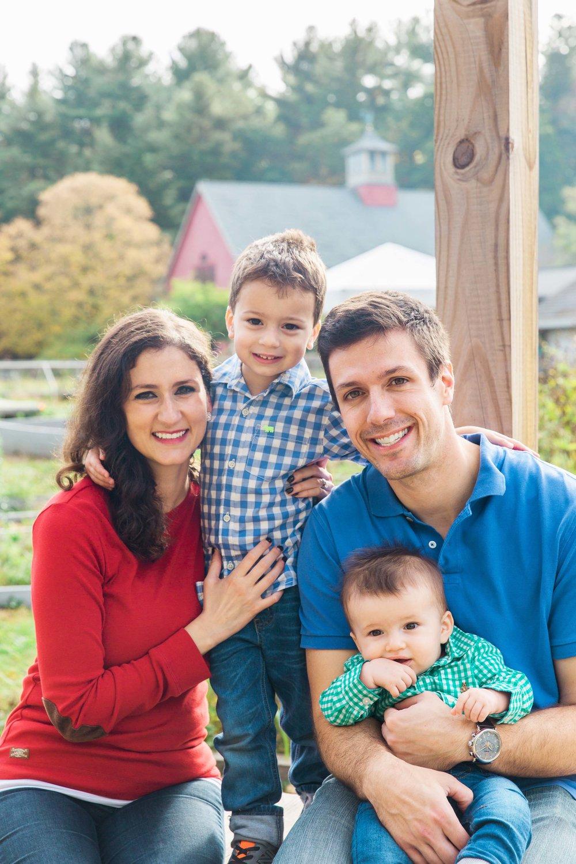 Joy Uyeno Greater Boston family photographer with a Sudbury family at Drumlin Farms