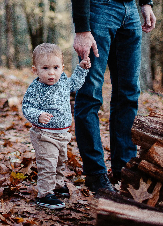 Greater Boston family photographer Joy Uyeno Sudbury toddler boy with dad