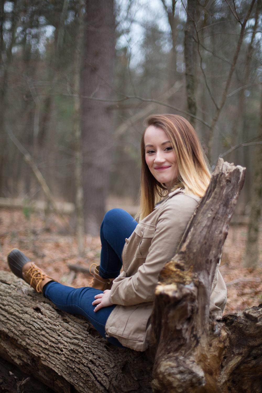 Joy Uyeno Greater Boston family photography Acton senior portraits in the woods