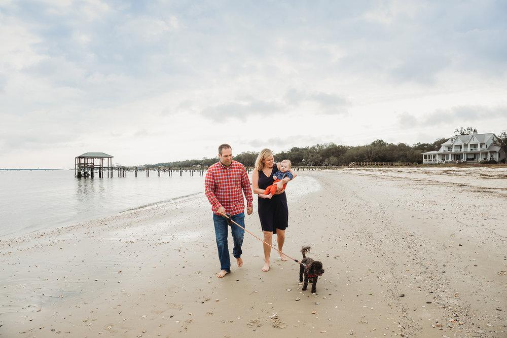Mid-morning beach photos by Boston family photographer Joy LeDuc.