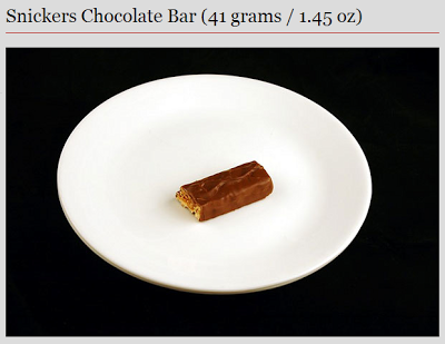 snickers bar - 200 calories