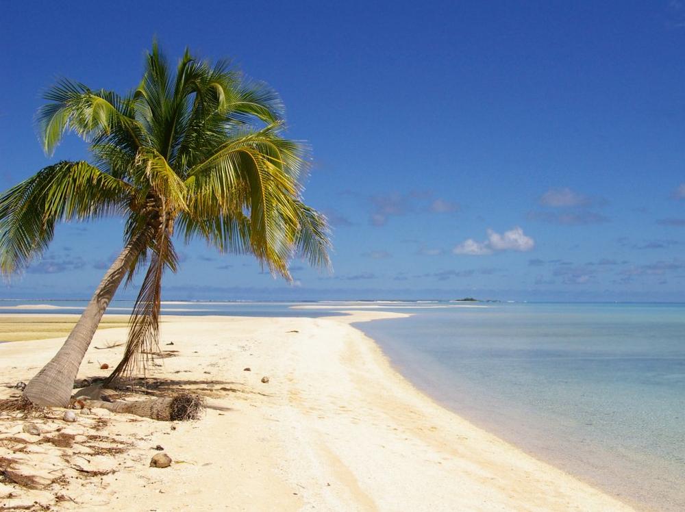 deserted island