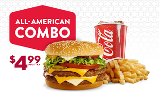 fast food combo meal