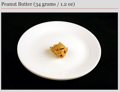 peanut butter - 200 calories