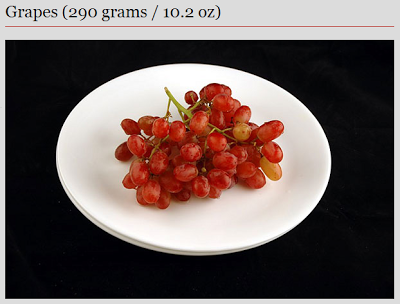grapes - 200 calories