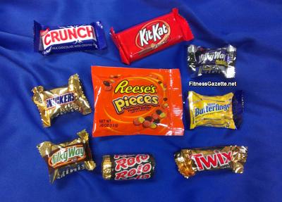 mini sized candy bars